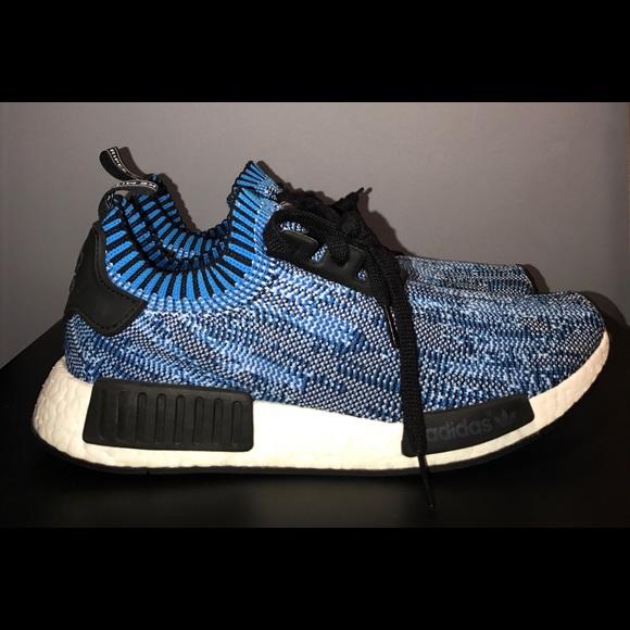 "hot sale online 616e7 b2241 adidas Other - Adidas NMD Runner PK ""Digital Blue"" Size 10.5 US"
